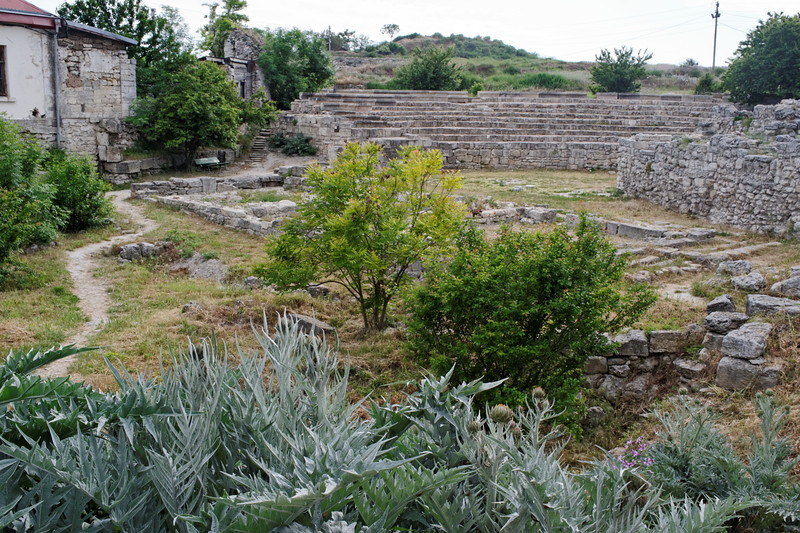 Sevastopol - Chersonesus, founded in 528 BC. Greek theater -