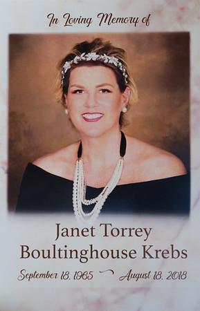 Janet Krebs Funeral 8-27-18
