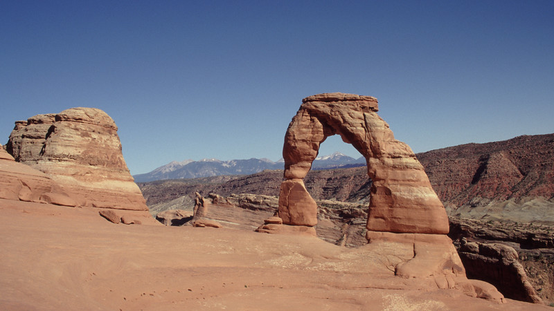Delicate Arch, Arches National Park, Utah.
