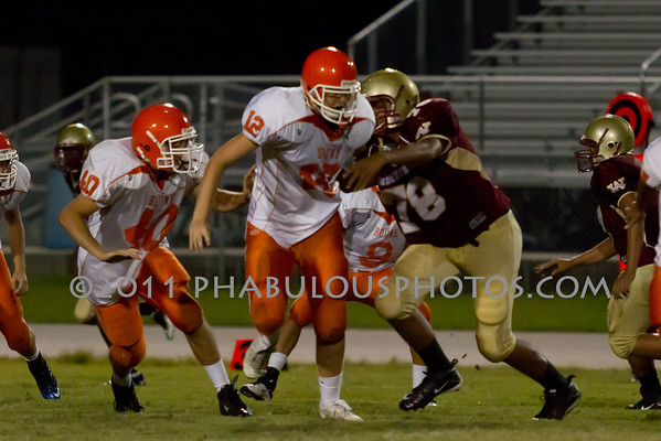 Boone JV Football #40- 2011