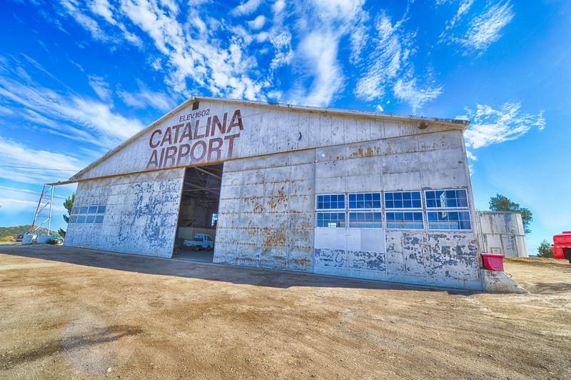 Hangar at Catalina Airport