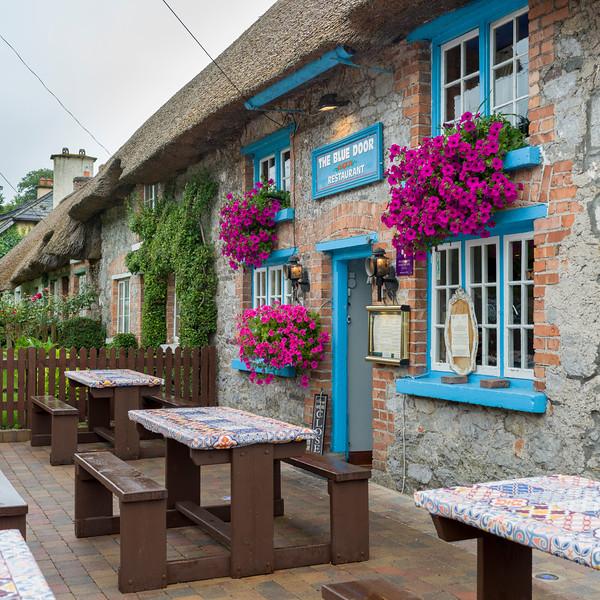 Facade of restaurant, Adare, County Limerick, Republic of Ireland