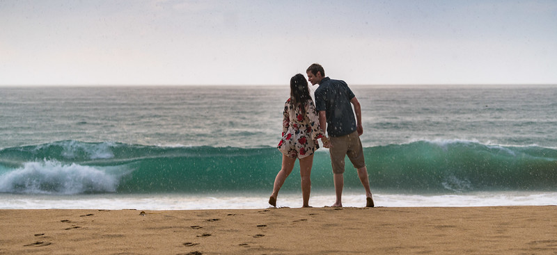 Kylie and Kevin @ Gray Whale Cove