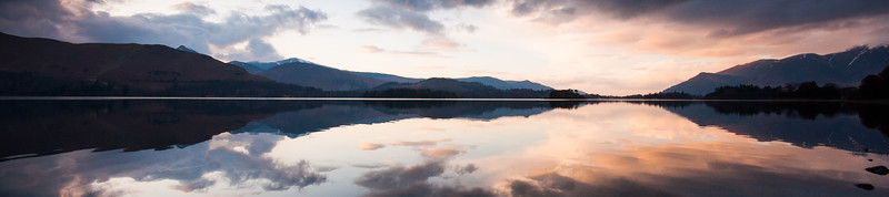 Mountain reflections in Derwent Water