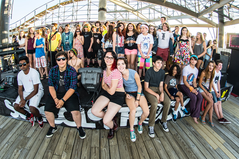 School Of Rock - Battle of the House Bands - Adventure Pier - June 29th, 2014