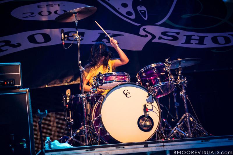 Chris Guanlao of Silversun Pickups performs on December 1, 2012 during 97X Next Big Thing at Vinoy Park in St. Petersburg, Florida