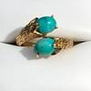 Vintage Bypass Gemstone Ring 13