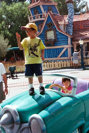 Disneyland Summer 2002