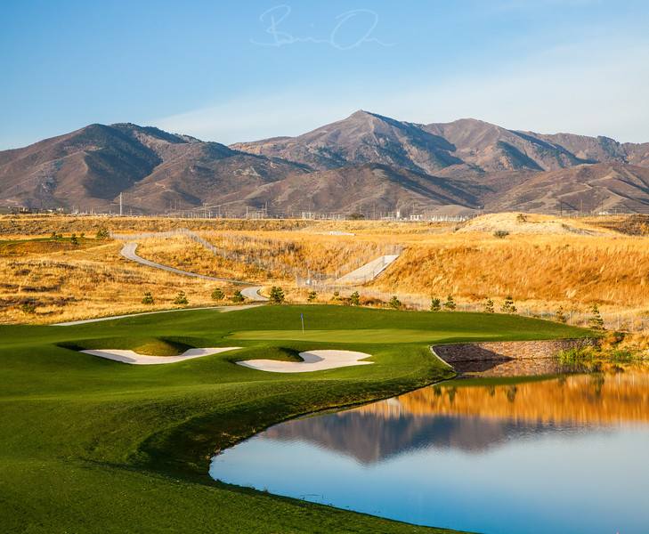 The Ridge - Golf Course Photography