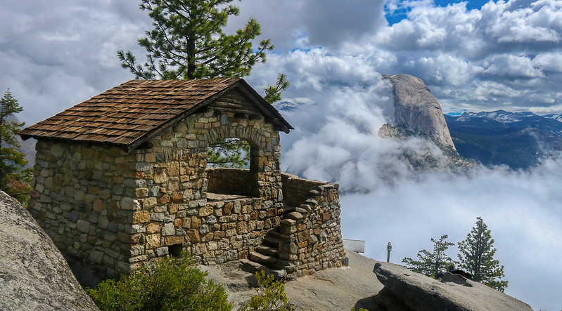 The Geology Hut at Glacier Point.
