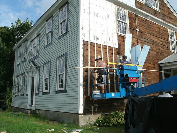Bridgewater Town Hall Renovation, 8/12/10