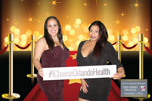 Orlando Health Service Awards Station 2 12-7-2018