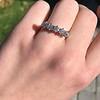 1.10ctw Old European Cut Diamond 5 Stone Band 15