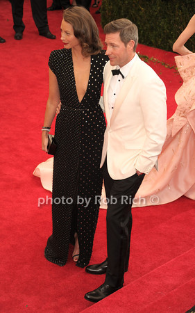 Christy Turlington and Ed Burns