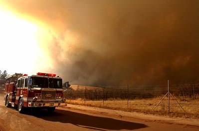 Cherokee Ranch Fire