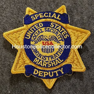 Marshal Special Deputy Patches