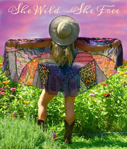 She Wild She free