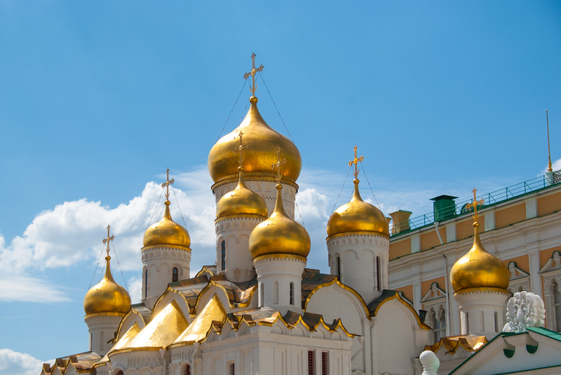 The Assumption Cathedral, Moscow, Russia