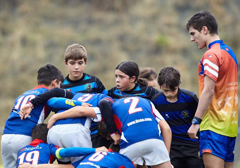 Liceo Azul vs Industriales Negro: 30-0