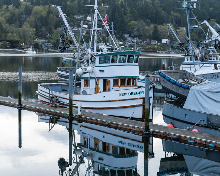 I am always fascinated by these fishing boats, a lot of character.  Gig Harbor, Washington