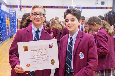 Latin School Activity Fair –September 17, 2019