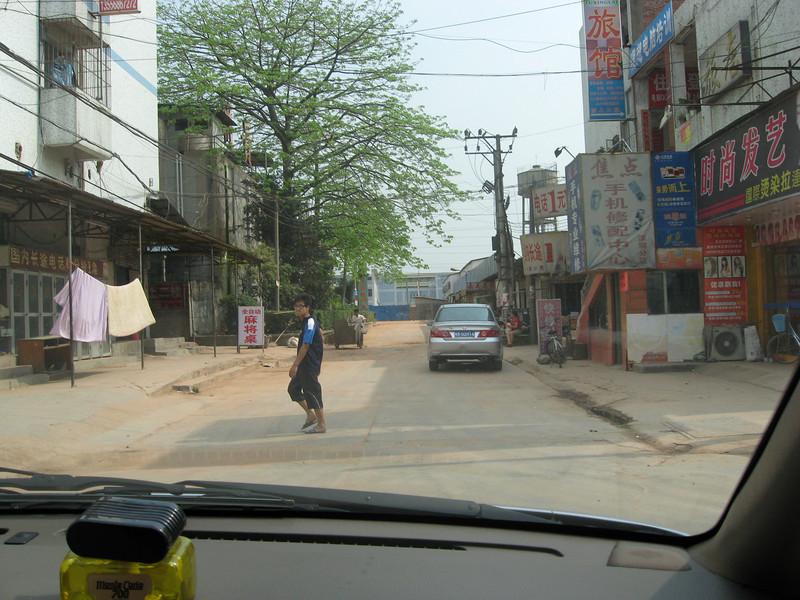 Bao An street scenes