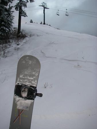 Snoboarding/Snowhiking Winter 07/08