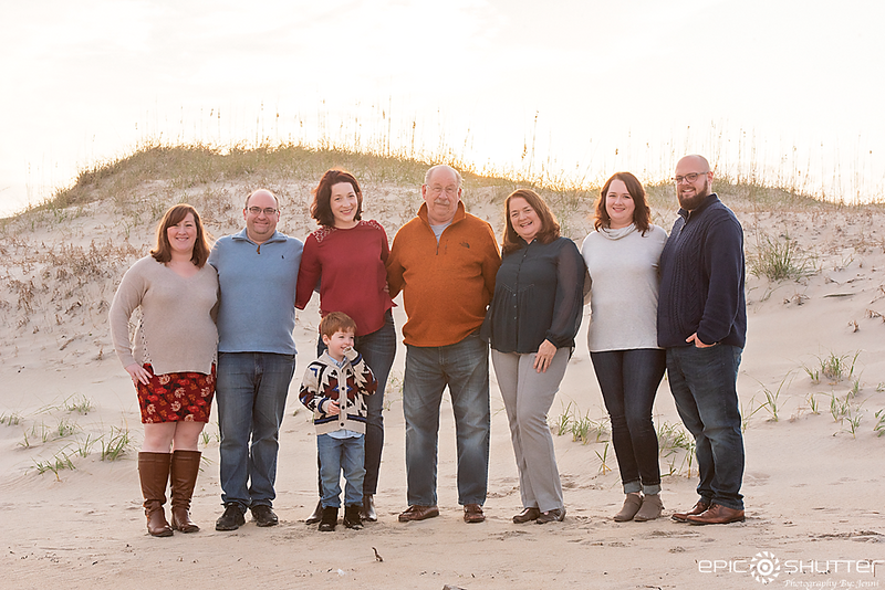 Winter Family Portraits,  Beach Portraits, Winter Vacation, Hatteras Island Photographer, Outer Banks Photographer, OBX Photographer,Avon, North Carolina, Cape Hatteras National Seashore, Epic Shutter Photography, Family Photos, Family Portraits, Children