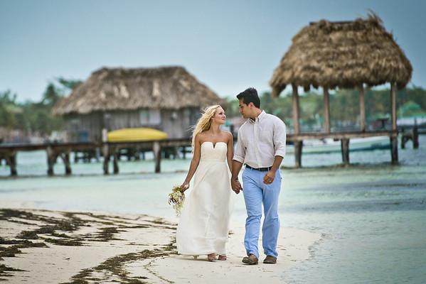 Kelsey & Jesus - Wedding - Belize - 30th of May 2014