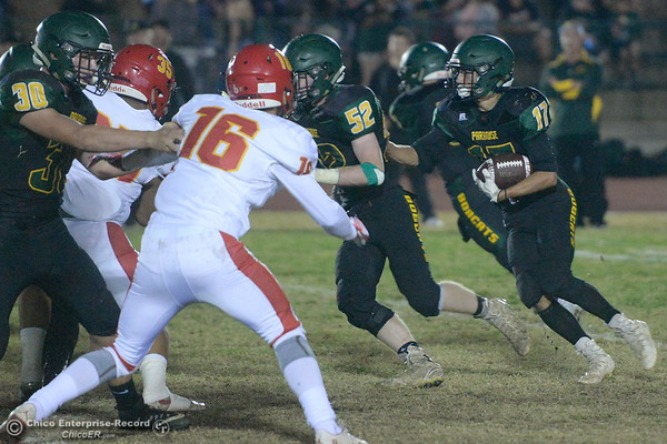Chico vs Paradise Football 10-5-2018
