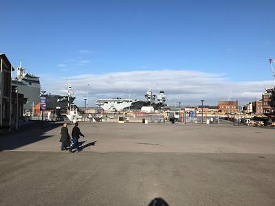 Portsmouth Historic Dockyard - Feb 2018