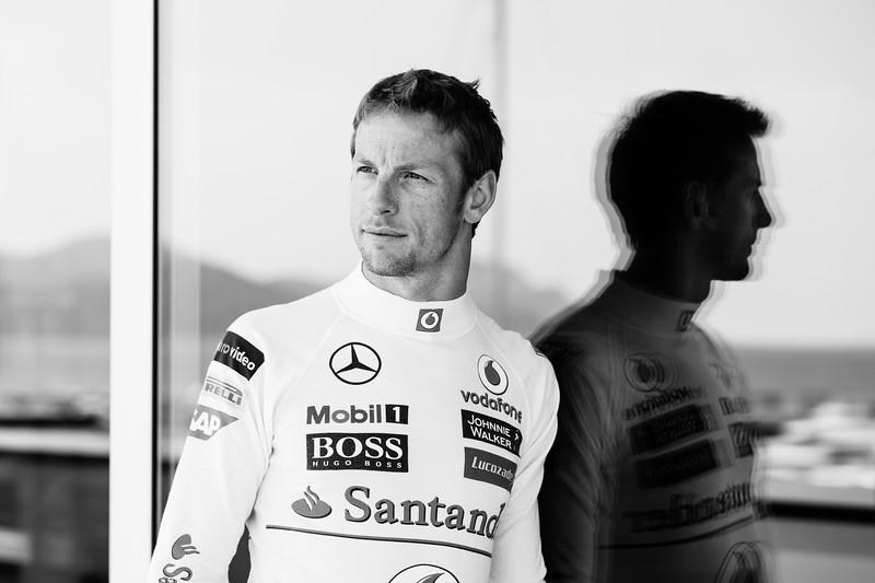 Jenson Button / Formula 1 Driver / Cannes, 2013