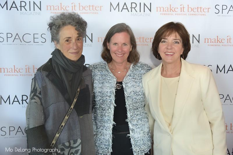 Meryl Lipton, Susan Noyes and Elizabeth Suzuki