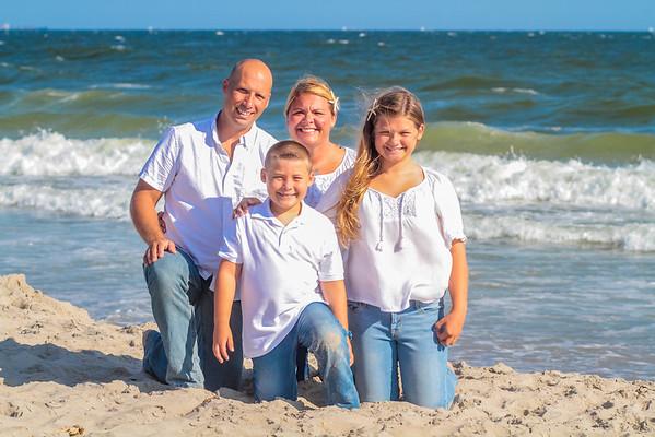 Beach Portraits - Wiley Family