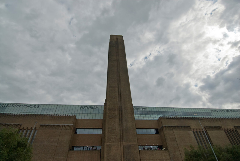 The Tate Modern in Westminster, England