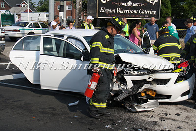 Lindenhurst F.D. MVA w/ traumatic injury W Montauk Hwy & S Wellwood Ave. 6-20-12