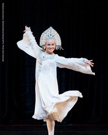 Ekaterina Ususnikova Russian Scarf Dance