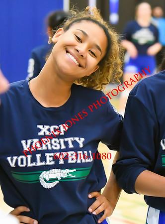 9-17-19 - Xavier v Corona del Sol - Vasity Volleyball