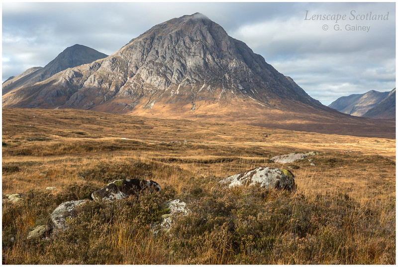 the iconic Buachaille Etive Mor on the approach to Glen Coe