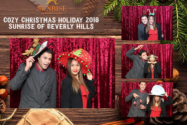 Sunrise Senior Living Holiday Party 2018