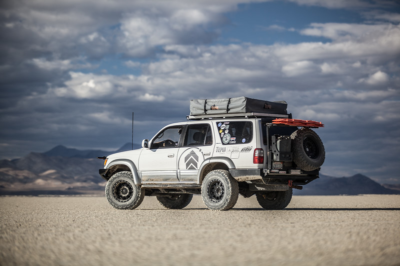 Black Rock Desert off road.
