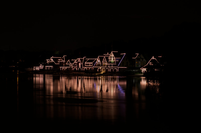 Boat house row