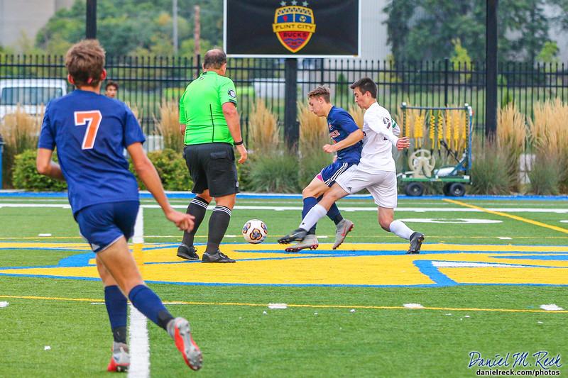 Chargers Boys Soccer vs. Davison at Atwood Stadium