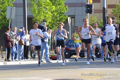 5K Start - 2001 River Bank Run