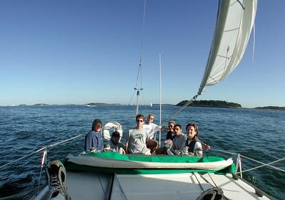 Sailing - Glenn's Boat