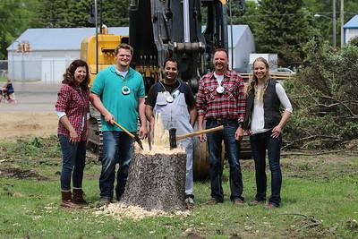 Lumberjack Challenge at St. Anthony's