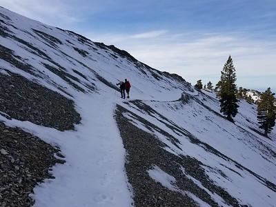 Baldy - Bear Canyon - Jan 27 2018