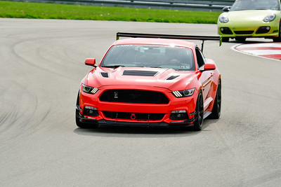 2019 SCCA TNiA May Pitt Race Red Mustang Wing
