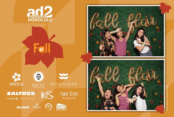Ad2 Honolulu Fall Flair 2019 (Fusion Photo Booth)