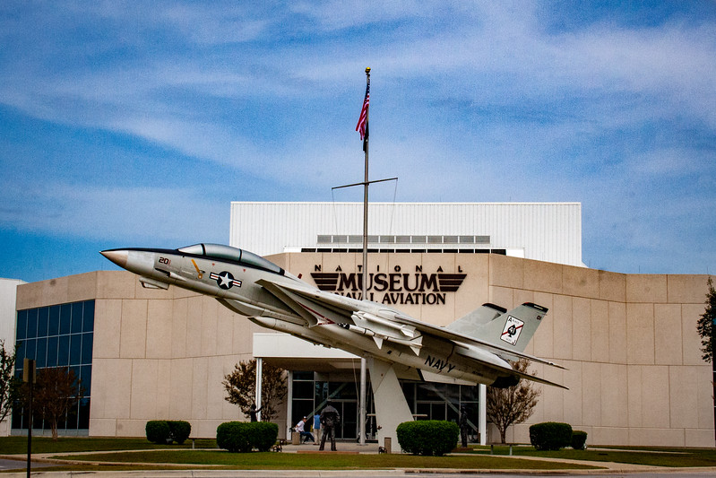 National Museum of Naval Aviation Entrance